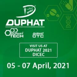 PC at DUPHAT Middle East Pharmaceutical Industry Exhibition 2021